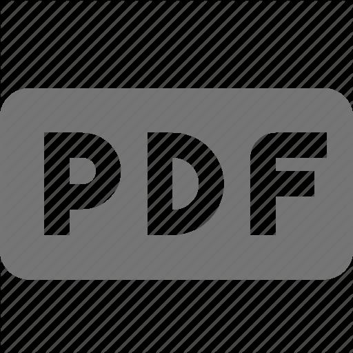 Extension, Format, Pdf Icon