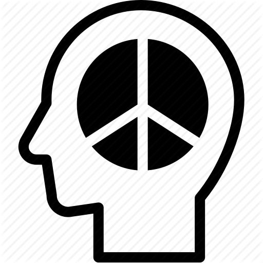 Head, Human, Idea, Mind, Peace, Think Icon