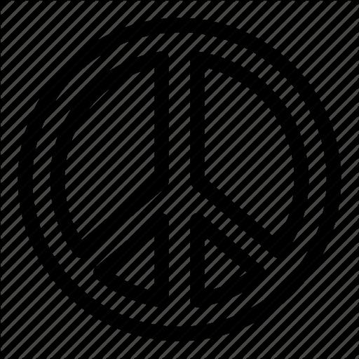 Peace, Peace Sign, Sign, Symbols Icon