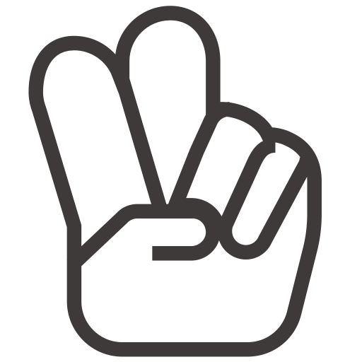Hand Peace O, Peace Icon Png And Vector For Free Download