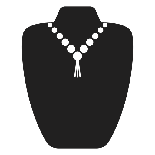 Pearl And Tassel Necklace Icon