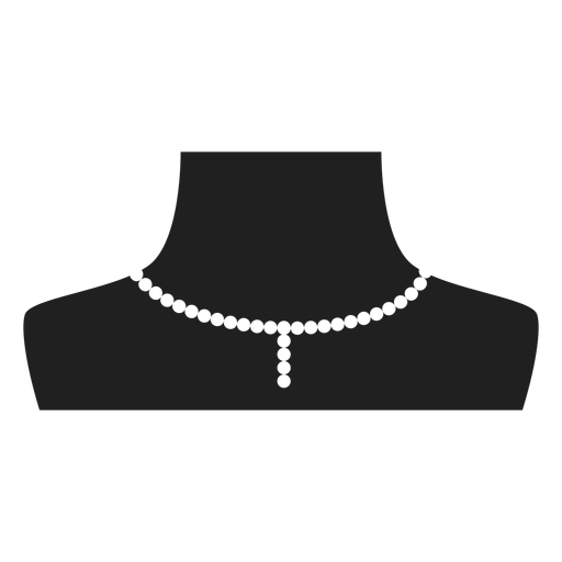 Pearl Choker And Pendant Icon