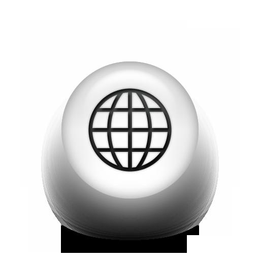 Black White Pearl Icon Business Globe Marcus Ward
