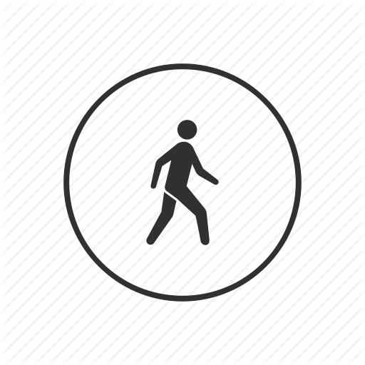 Crossing, Pedestrian, Road, Sign, Street Sign, Walk Sign, Walking Icon