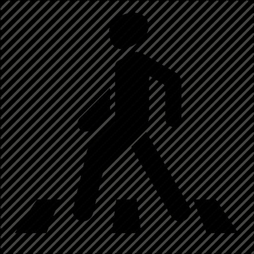 Crossing Zone, Crosswalk, Man, Pedestrian, Pedestrian Crossing