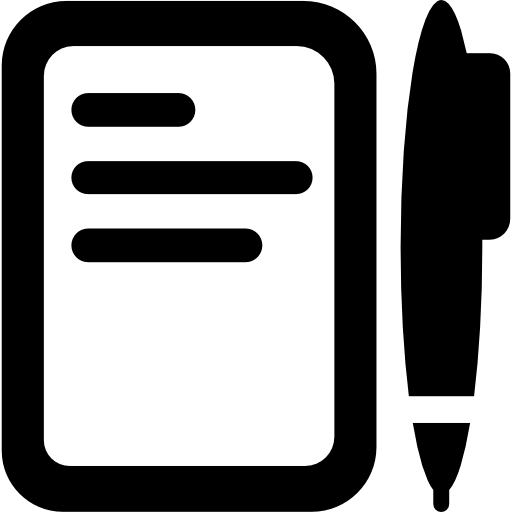 Pen And Paper Icons Free Download