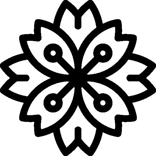 Nature, Blossom, Botanical, Petals, Peony, Flower Icon