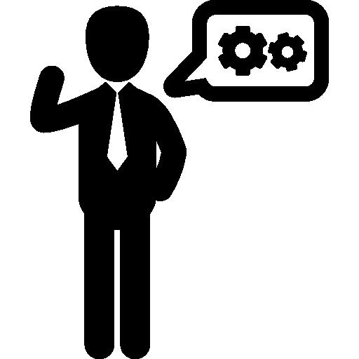 People Tools Flat Icon