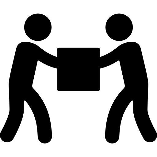 People, Circle, Hand In Hand, Holding Hands, Cooperation Icon