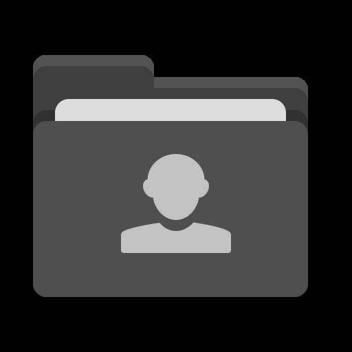 Folder, Black, Image, People Icon Free Of Papirus Places