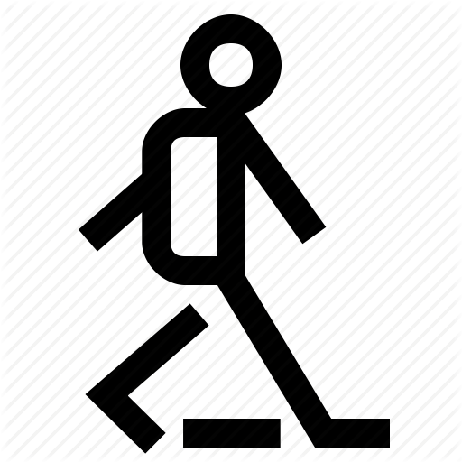 Foot, Man, People, Person, Profile, Users, Walk Icon