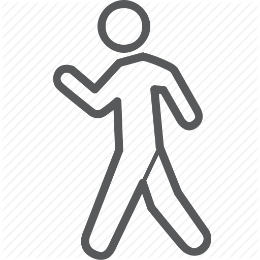 Go, Health, Human, Person, Walk, Walking Icon