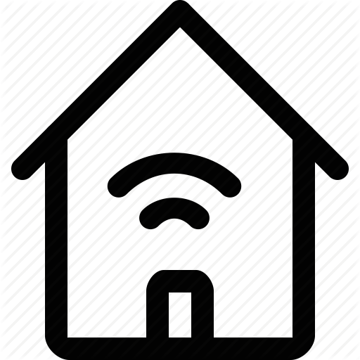 Home, House, Internet Of Things, Iot, Smart, Technology, Wireless Icon