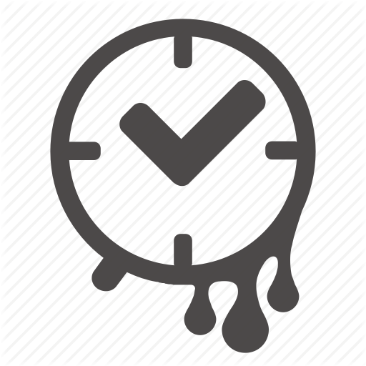 Clock, Date, Hour, Period, Time, Wasting Icon