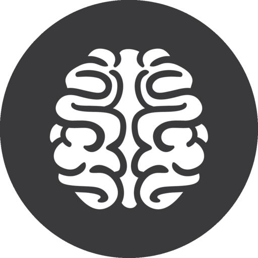 Brain Games Grey Icon