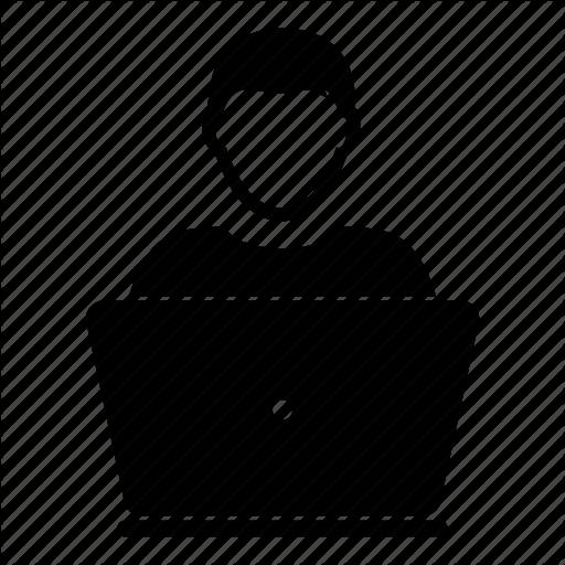 Admin, Computer, Laptop, Men, People, Person, User Icon
