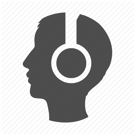 Head, Headphones, Listen, Music, Person, Sound, User Icon