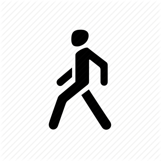 Go, Man, Pedestrian, Person, Walk, Walking Icon