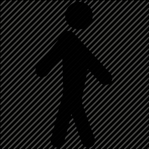 Man, Pedestrian, Person, Walk, Walking Icon