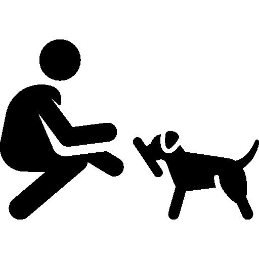 Walking The Dog, Leash, Animals, Pet Icon