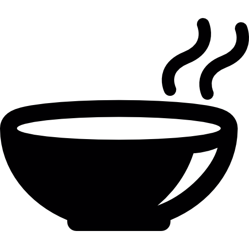 Hot Soup On A Bowl Icons Free Download