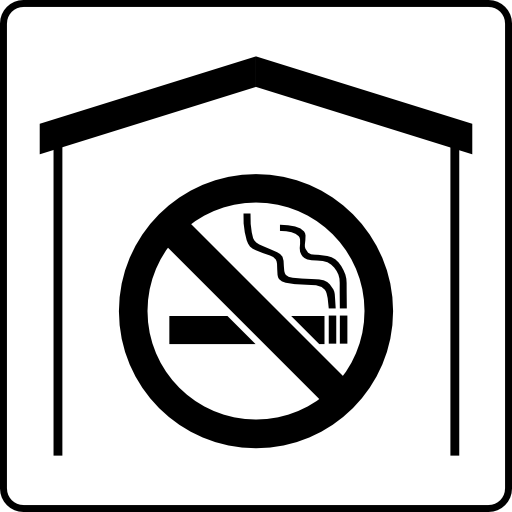 Hotel Icon No Smoking In Room Clipart