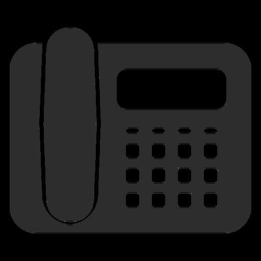 Desk Phone Black Icon