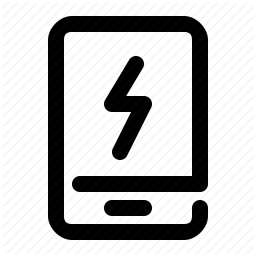 Charge, Charging, Energy, Mobile, Phone, Smartphone Icon