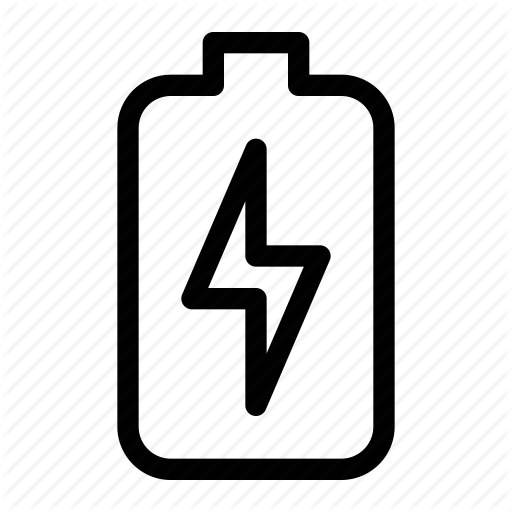 Battrey, Charge, Charging, Energy, Line Icon, Mobile, Phone Icon