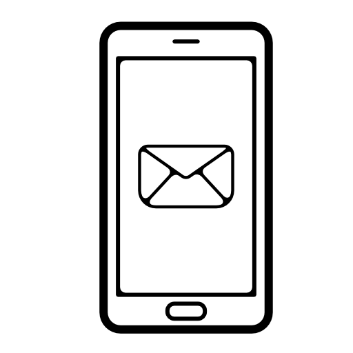 Cell Phone Icon For Email Free Icons