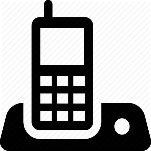 Download Cordless Phone Icon Clipart Cordless Telephone Home