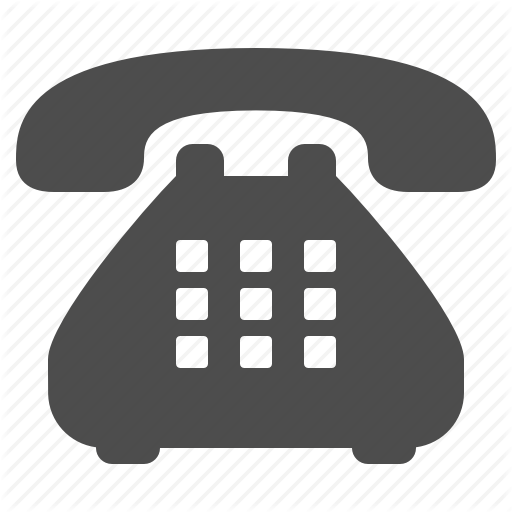Handset, Landline, Phone, Telephone Icon