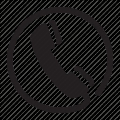 Circle, Headset, Phone, Retro, Wire Icon