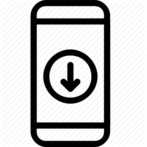 Download, Mobile, Phone Icon