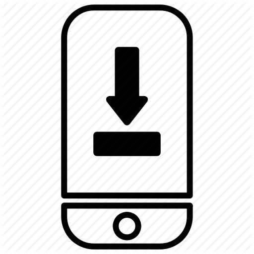 Download, Interface, Mobile, Phone, Save, Smartphone Icon