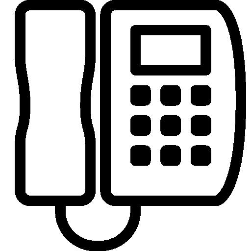 Household Phone Icon Ios Iconset