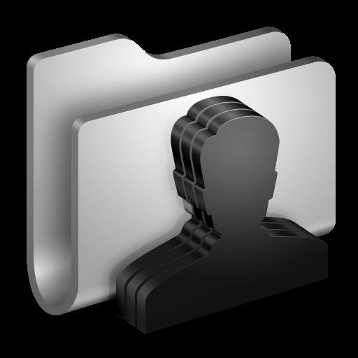 Group Metal Folder Icon Alumin Folders Iconset Wil Nichols