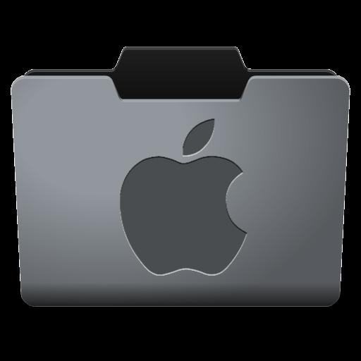 Steel Mac Classy Folder Icon
