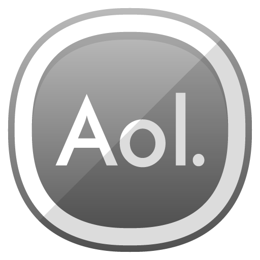 Aol Icon Free Cute Shaded Social Iconset Designbolts