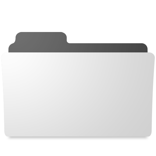 Minimal Open Folder Icon Free Download As Png And Icon Easy