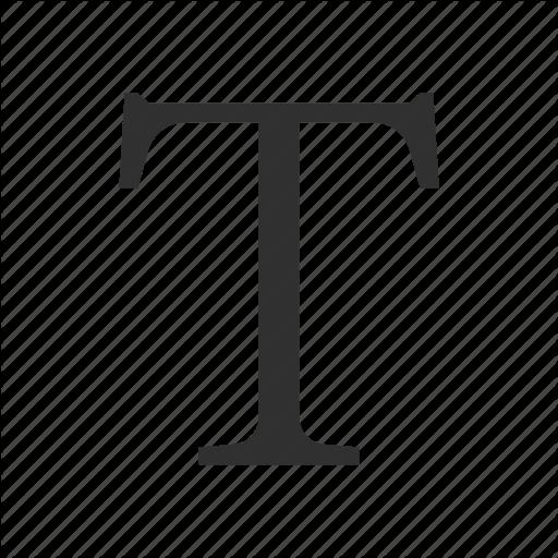 Photoshop Text Tool, Text, Text Tool, Type Tool Icon
