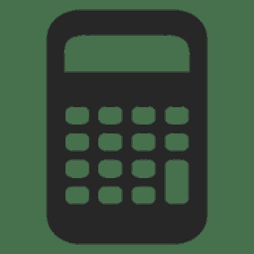 Flat Calculator Icon