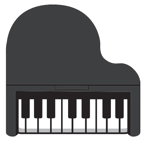 Musical, Instrument, Piano Icon Free Of Piano Keyboard Icons
