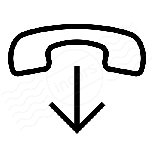 Iconexperience I Collection Phone Hang Up Icon