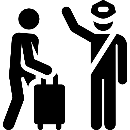 Airport Human Pictograms Icon