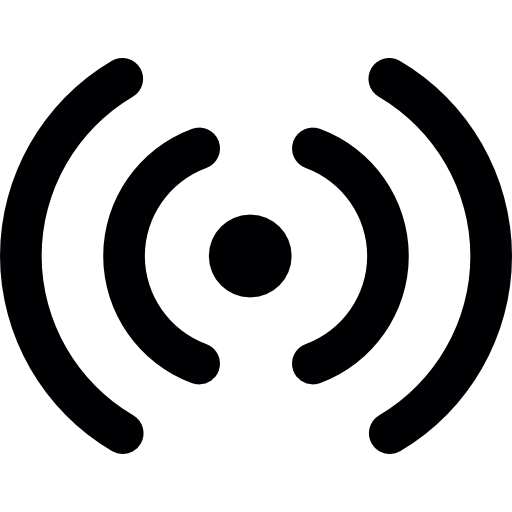 Wifi Signal Pictogram Icons Free Download