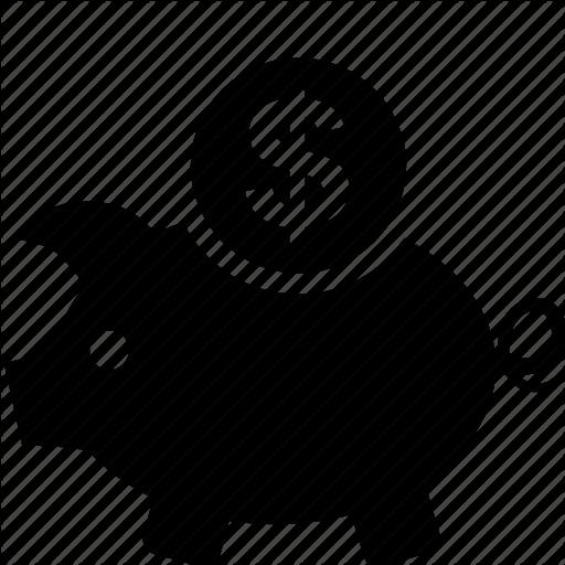 Business, Cash, Dollar, Finance, Money, Pig Icon