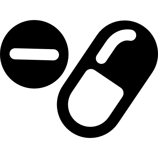 Drugs Capsules And Pills Icons Free Download