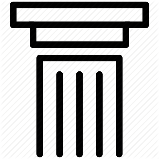 Column, Creative, Grid, Layout, Line, Pillar, Shape, Structure Icon