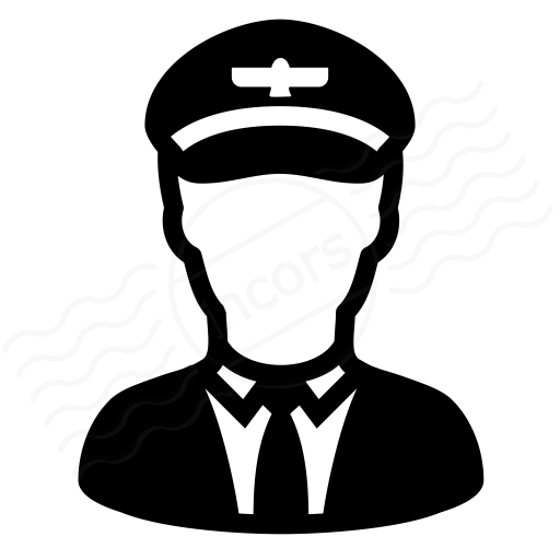 Iconexperience I Collection Pilot Icon